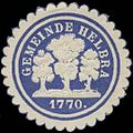Siegelmarke Gemeinde Helbra W0325753.jpg