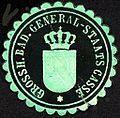Siegelmarke Grossherzoglich Badische General - Staats Casse W0227313.jpg