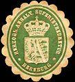Siegelmarke Herzoglich Anhaltische Superintendentur - Bernburg W0215286.jpg