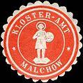 Siegelmarke Kloster - Amt - Malchow W0224407.jpg