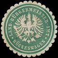 Siegelmarke Land-Bürgermeister-Amt Hückeswagen W0383813.jpg