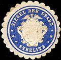 Siegelmarke Siegel der Stadt Strelitz W0211823.jpg