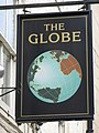 Sign for the Globe Inn - geograph.org.uk - 738868.jpg