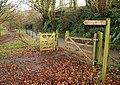 Signs by Chuley Road, Ashburton - geograph.org.uk - 1081283.jpg