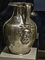 Silver Oinochoe (wine jug) with Silenus relief from the tomb of Philip II of Macedon at Aigai (Vergina) 350-336 BCE 01.jpg