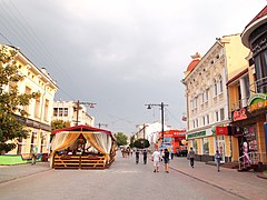 Simferopol - terrace on Karl Marx.jpg