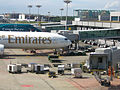 Singapore changi airport ground handling emirates.JPG