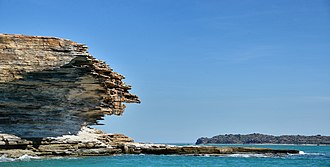 Sir Edward Pellew Group of Islands - Rock formations on a small island within the group