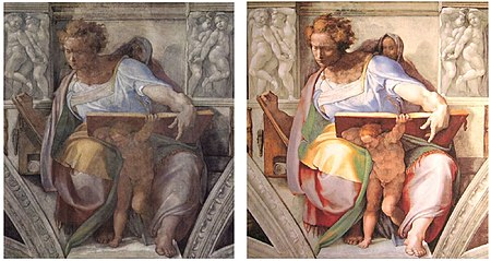 Foreskin Restoration before and After http://en.wikipedia.org/wiki/Restoration_of_the_Sistine_Chapel_frescoes