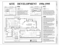 Site Development, 1956-1995 - Southern Ductile Casting Company, Bessemer Foundry, 2217 Carolina Avenue, Bessemer, Jefferson County, AL HAER ALA,37-BES,5- (sheet 2 of 9).png