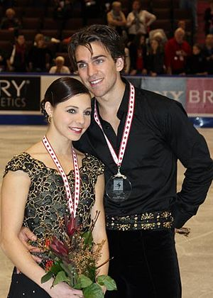 Jessica Dubé - Dubé and Davison at 2008 Skate Canada International