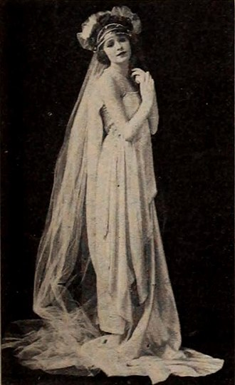 Alta Allen - Allen, pictured at age 15 in a film still for the silent film, Skirts
