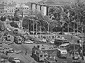 Skrzyżowanie Alej Jerozlimskich i ul. Nowy Świat w latach 60.jpg