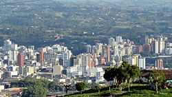 Skyline of Pereira