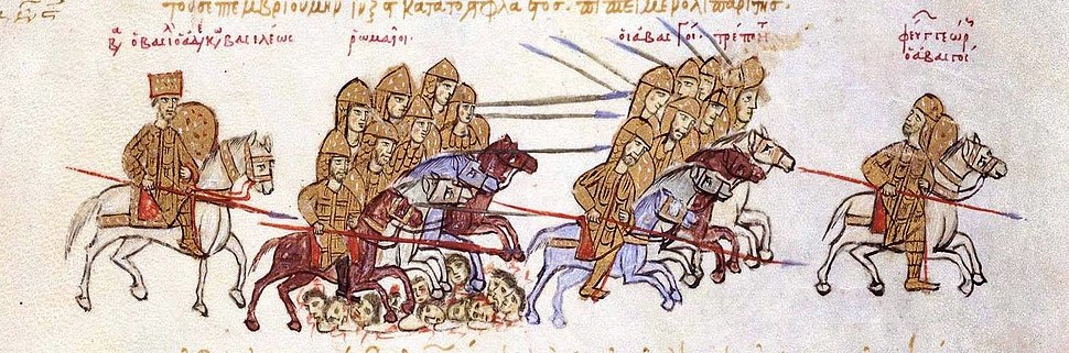 Skylitzes. Basil II vs Georgians cropped