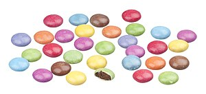 English: Smarties (UK) candies. Similar to Ame...