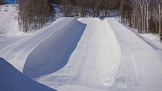 Superpipe - Front view of a Snowpipe