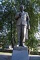 Socha Petra Bezruče - čelní pohled, Kostelec na Hané, okres Prostějov.jpg