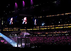 Sold-out concert