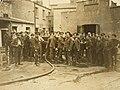 Soldiers attending fire aftermath, Parkgate Street, Dublin 1920s (5796288940).jpg