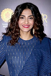 Sonam Kapoor Sonam Kapoor at Jio Mami Mumbai film festival's word to screen market (06) (cropped).jpg