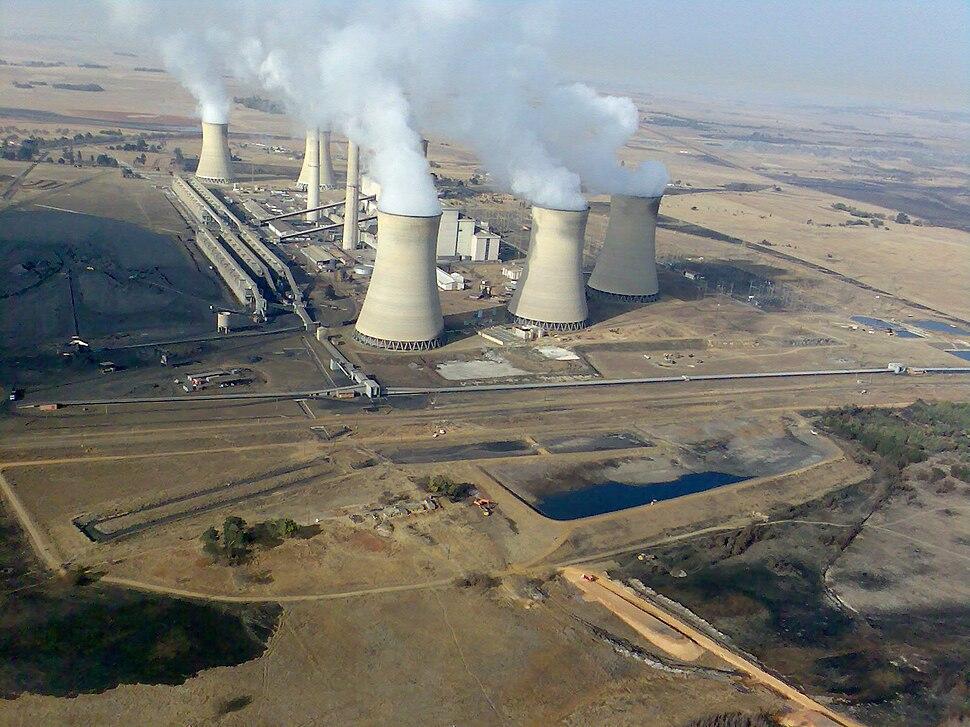 South Africa-Mpumalanga-Middelburg-Arnot Power Station01