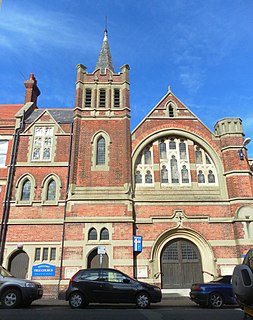 South Street Free Church, Eastbourne Church in East Sussex , United Kingdom
