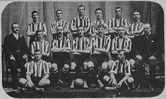 History of Southampton F.C. - The team that played Argentine team Alumni in Buenos Aires, 1904.