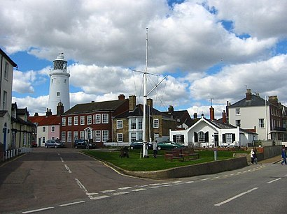 How to get to Southwold with public transport- About the place