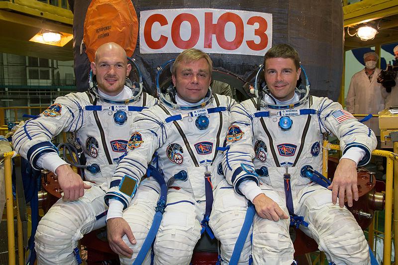 Alexander Gerst, Maxim Surajew, Gregory Wiseman