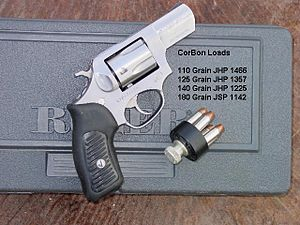 Ruger SP101 - SP101 with Corbon Load Data