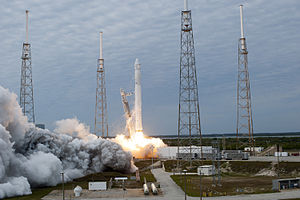 Up in the Air (song) - The SpaceX CRS-2 Falcon 9 launching on March 1, 2013