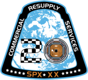 SpaceX CRS-20 Patch.png