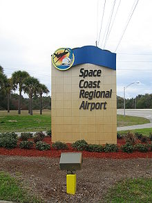 Space Coast Regional Airport sign 001.jpg