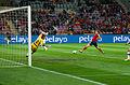 Spain - Chile - 10-09-2013 - Geneva - Victor Valdes, Mauricio Isla and Ignacio Monreal 2.jpg