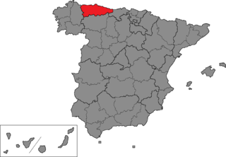 Asturias (Congress of Deputies constituency) electoral district of the Spanish Congress