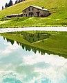 Specchio di montagna ( malga aguina ) - panoramio.jpg