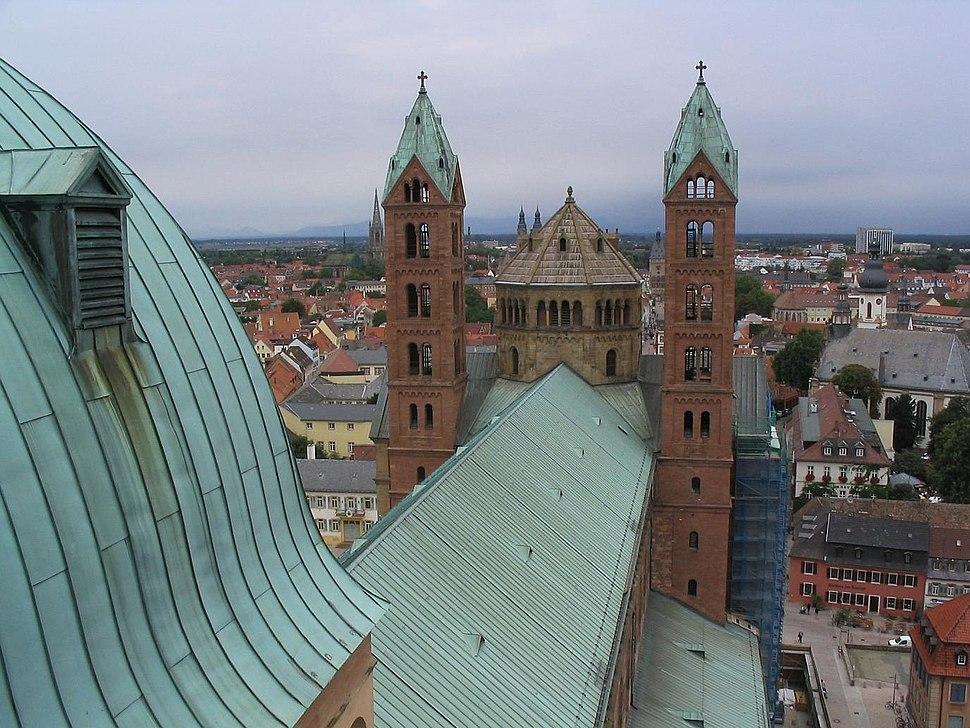 Speyerer Dom Dach