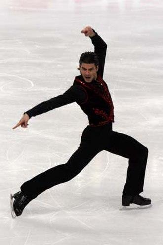 Stéphane Lambiel - Lambiel at the 2007-2008 Grand Prix Final.