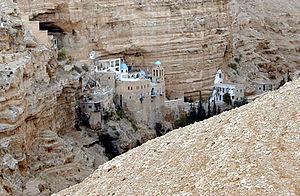 Monastery of St. George of Choziba - St. George Orthodox Monastery in Wadi Qelt
