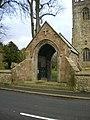 St Andrew's Church, Gargrave, Lych gate - geograph.org.uk - 1614430.jpg