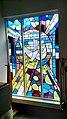 St Andrew and St Cuthbert Catholic Church in Kirkcudbright, Scotland. Baptistery Window.jpg
