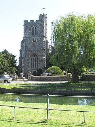 Grade I listed buildings in Hertfordshire - Image: St Augustine, Broxbourne, Herts geograph.org.uk 472882