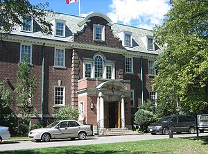Adrienne Clarkson - St. Hilda's College, the women's college at the University of Toronto's Trinity College, where Clarkson enrolled in 1956