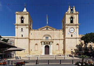 Saint Johns Co-Cathedral Church in Valletta, Malta