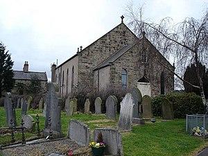 Mostyn - Image: St Margarets Rhewl Mostyn geograph.org.uk 128342