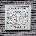 St Michael and All Angels Church, Highfield Lane, Thursley (June 2015) (Sundial).JPG