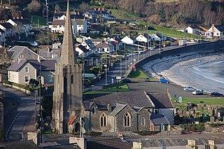 Glenarm village in the United Kingdom