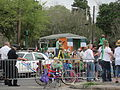 St Pats Parade Day Metairie 2012 Parade Barricade Bike.JPG
