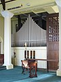 St Paul, Burges Road, London E6 - Organ - geograph.org.uk - 1742288.jpg